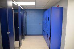 Locker-room-changing stalls